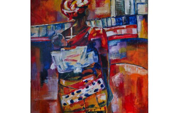 Afrika, moeder met kind